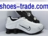 grossiste destockage  cuir-chaussures Nike shox shoes by paypal