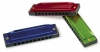grossiste destockage   Lot de 3 harmonicas color ...