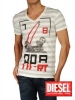grossiste destockage  habillement Tescri t-shirts diesel ho ...