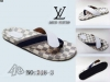 grossiste destockage  habillement Louis vuitton pantoufle