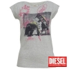 grossiste destockage  habillement Tourty t-shirts diesel fe ...