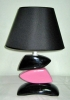 grossiste destockage  objets-decoration Lot lampe galet fuschia n ...