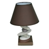 grossiste destockage  objets-decoration Destockage lampe faux boi ...