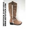 grossiste destockage  cuir-chaussures Bottes femme ref 2588
